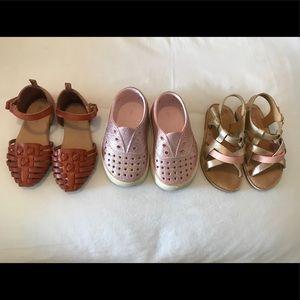 Toddler girl shoe lot size 7